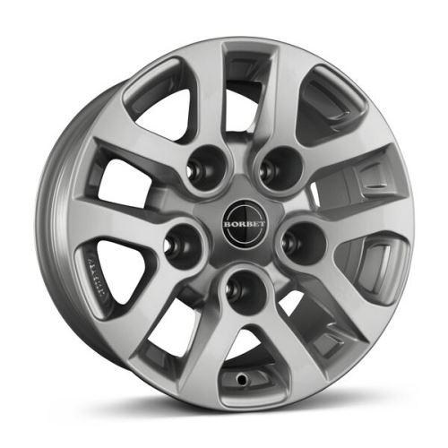 Alu disk Borbet LD 8x16, 5x165, 113, ET5 silver