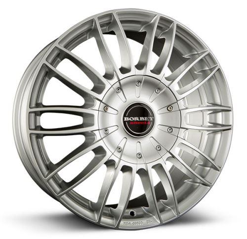 Alu disk Borbet CW 3 7.5x18, 5x120, 65.1, ET53 sterling silver