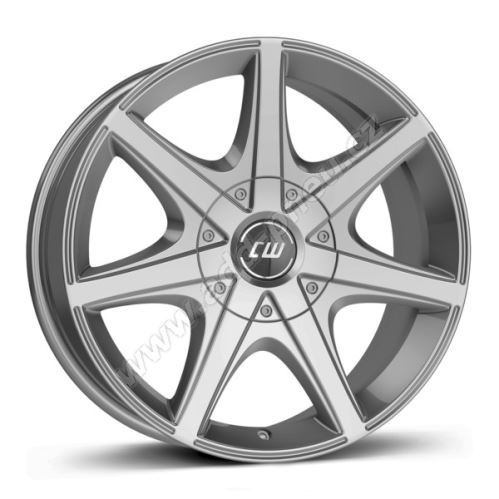 Alu disk Borbet CWE 8.5x18, 5x114,3, 60.1, ET35 crystal silver