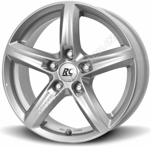 Alu disk BROCK RC24 6.5x16, 4x100, 63.4, ET38 Kristallsilber (KS)