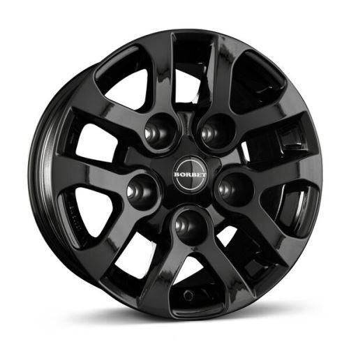 Alu disk Borbet LD 8x16, 5x165, 113, ET5 black glossy
