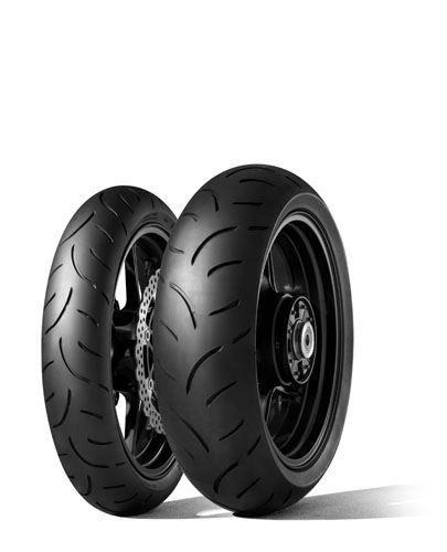 Letní pneumatika Dunlop SPMAX QUALIFIER II F 120/70R17 58W