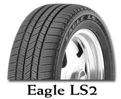 Letní pneumatika Goodyear EAGLE LS2 255/45R19 104H XL AO