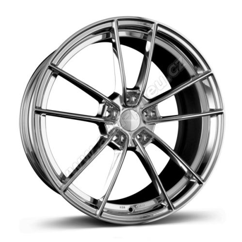 Alu disk Borbet FF1 8.5x19, 5x112, 72.5, ET35 stainless polished