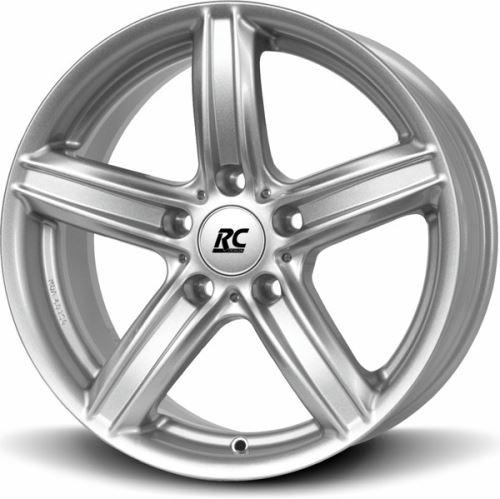 Alu disk BROCK RC21ECE 7x16, 5x120, 72.6, ET31 Kristallsilber (KS)